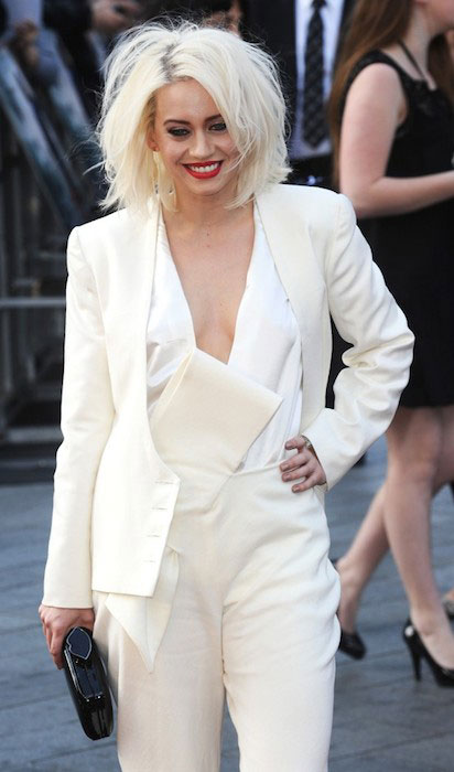 Kimberly Wyatt at UK Premiere of World War Z.