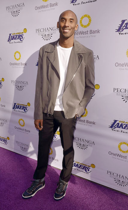 Kobe Bryant at Laker Foundation Event & Party.