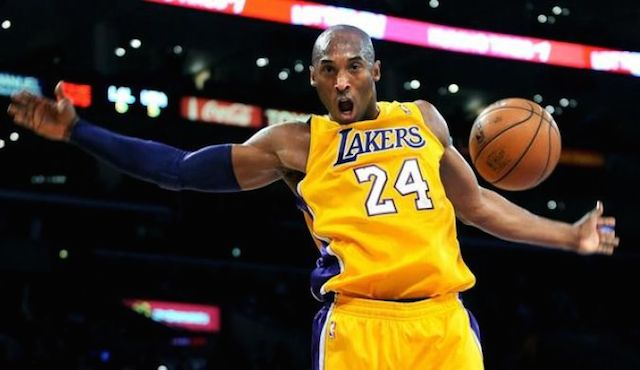 Kobe Bryant during a match.