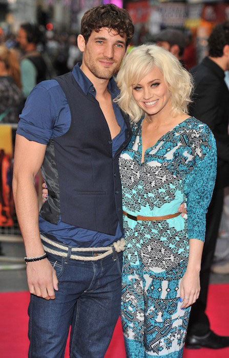 Max Rogers and Kimberly Wyatt at UK Premiere of Katy Perry: Part of Me.