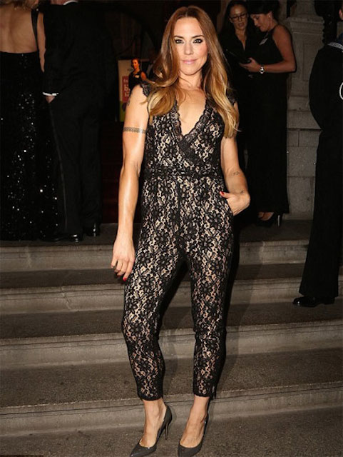 Melanie C at the opening of Liverpool's 30 James Street.