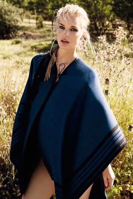 """Nicola Haffmans by George Katsanakis for Marie Claire Greece Magazine's editorial """"The Impression"""" for its July 2014 Issue."""