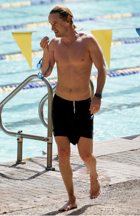 Owen Wilson shirtless