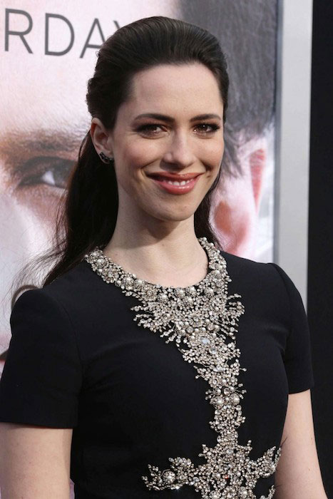 Rebecca Hall during Transcendence premiere.