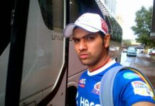 Rohit Sharma preparing himself for the Cricket World Cup 2015