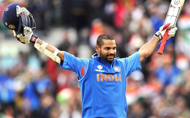 Indian batsman, Shikhar Dhawan