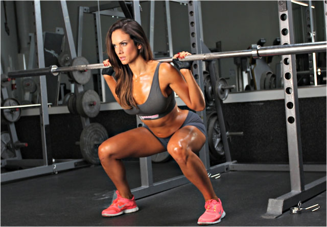 Squats legs