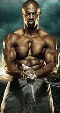 Terry Crews well-built body