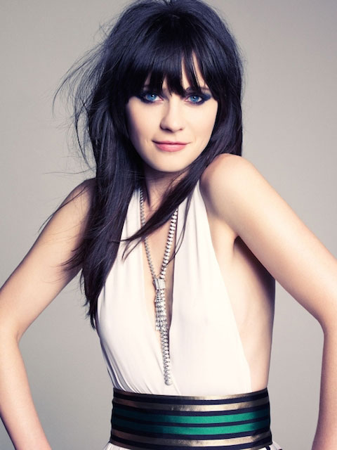Zooey deschanel maxim