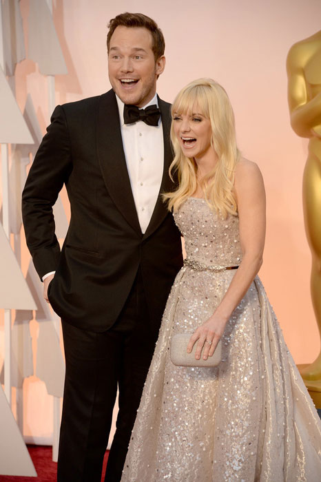 Chris and Anna at Oscars