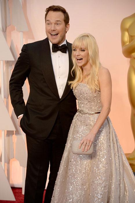 Chris and Anna at Oscars