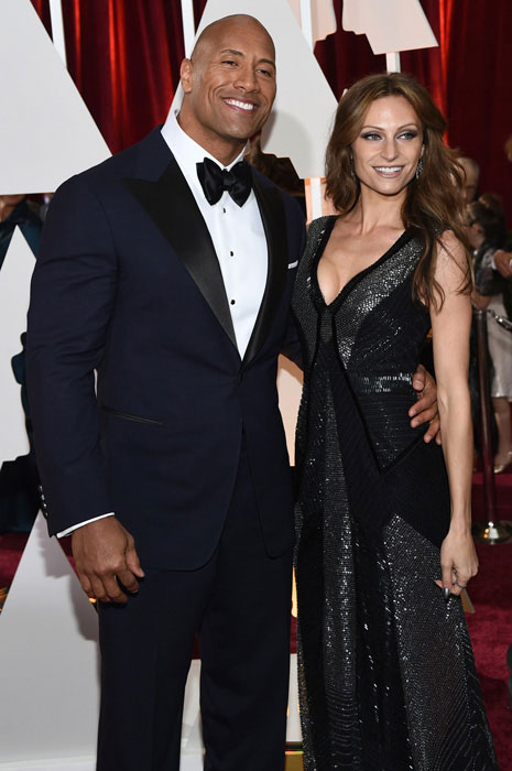 Dwayne Johnson and Lauren