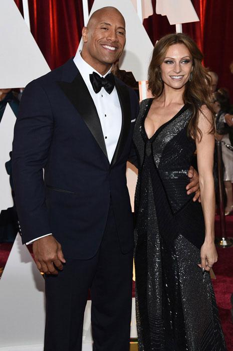 Dwayne Johnson and Lauren