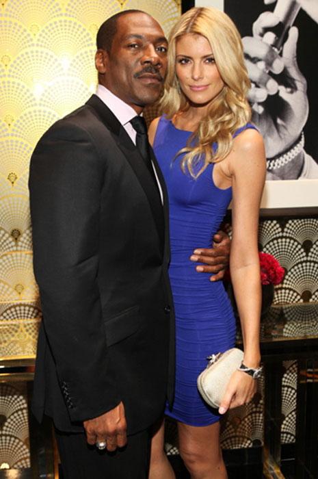Eddie with his girlfriend