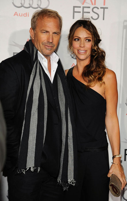 Kevin Costner and Cindy Silva