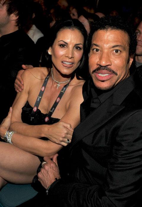 Lionel Richie with Diana