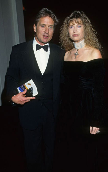 Michael Douglas and Diandra
