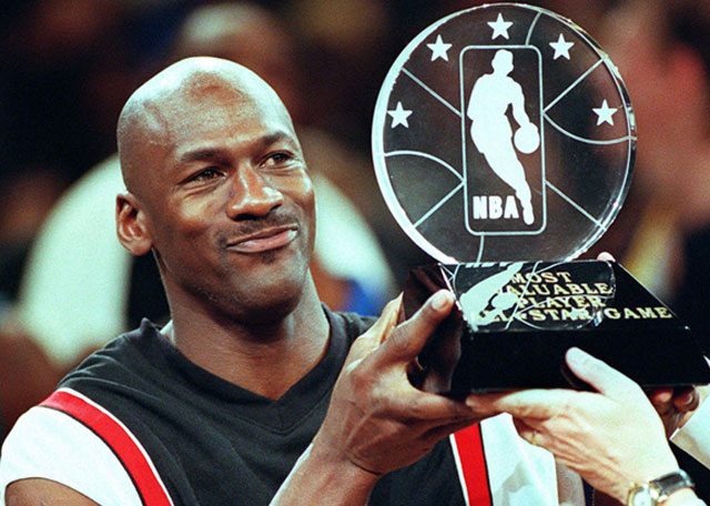 Michael Jordan Honored