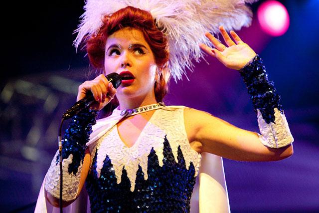 Paloma on Stage