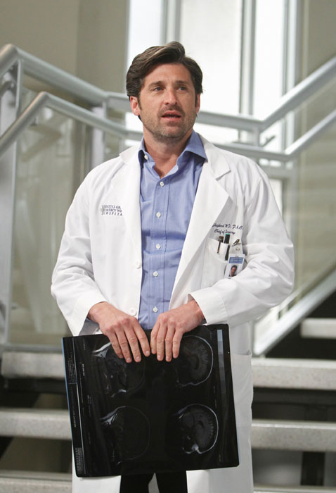 Patrick in Grey's Anatomy