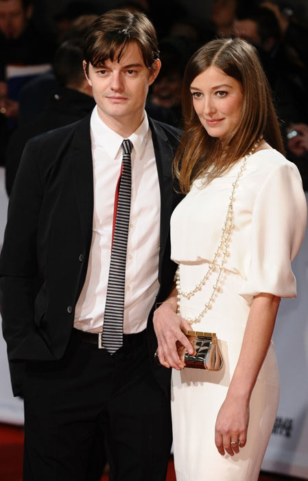 Sam Riley With Wife