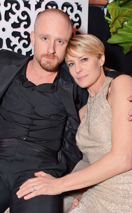 Robin Wright and Ben Foster