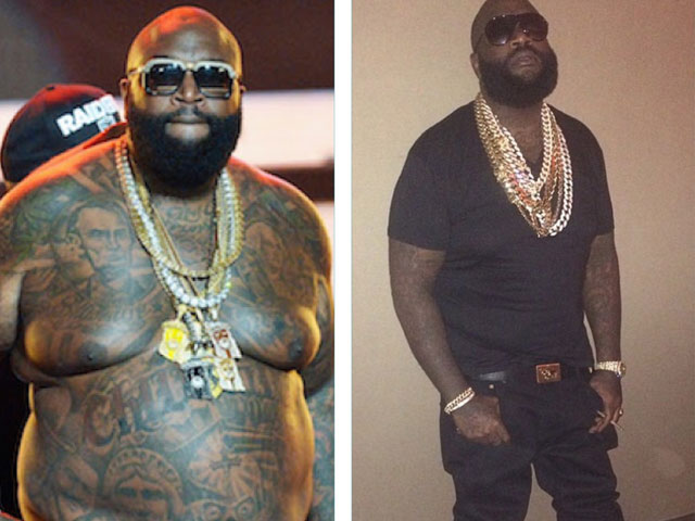Rick Ross Weight Loss 2014