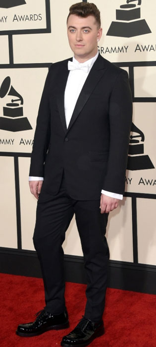 Sam at Grammy Awards