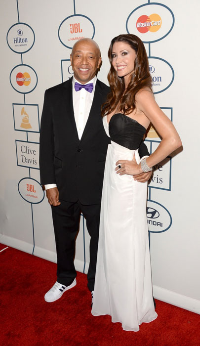 Shannon Elizabeth with Russell Simmons