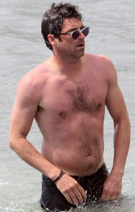 Shirtless Patrick Dempsey