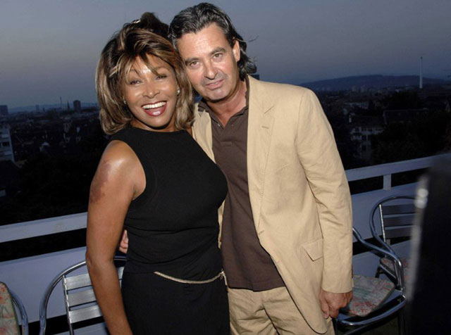 Tina Turner and Erwin Bach