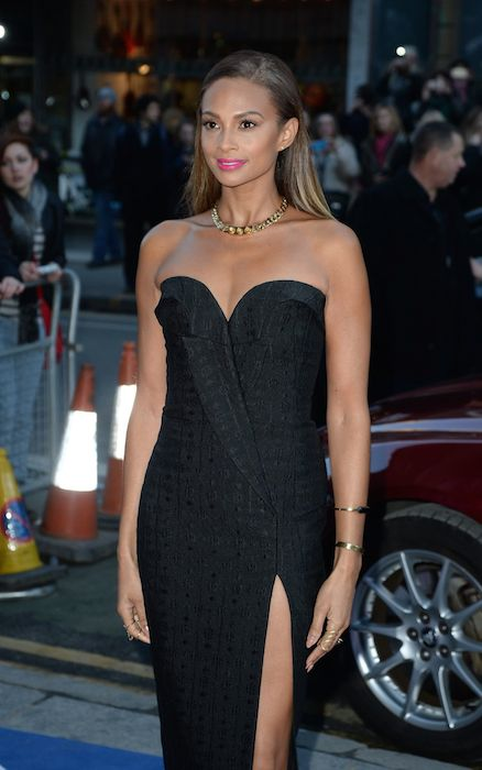 Alesha Dixon at Britain's Got Talent Auditions in January 2015