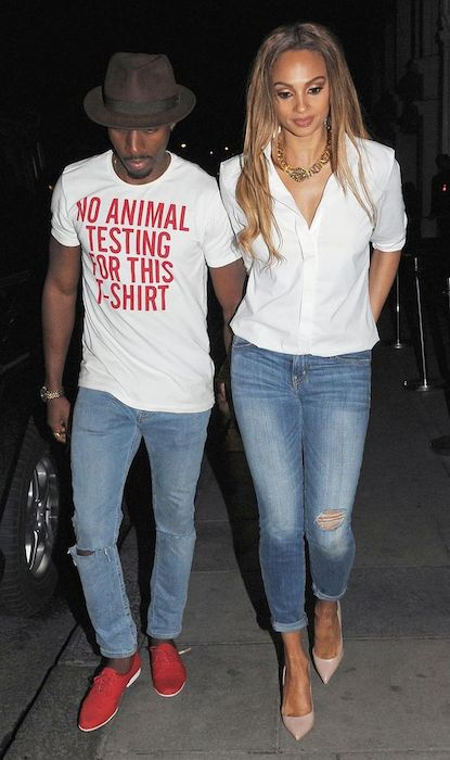 Alesha Dixon and Pharrell Williams