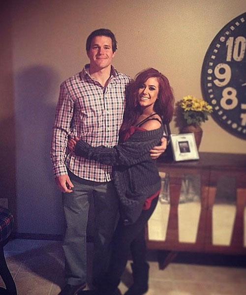 Chelsea Houska and her boyfriend Cole DeBoer