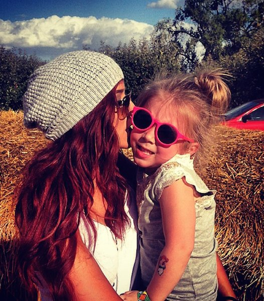 Chelsea Houska daughter Aubree Skye