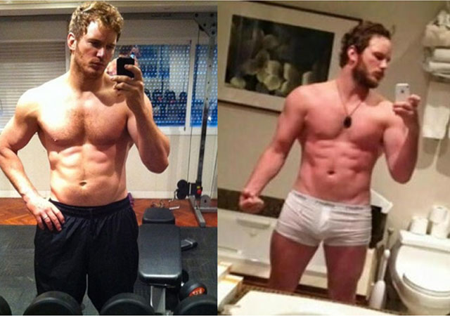 Chris Pratt Worked Really Hard for His Look in Guardians of the Galaxy