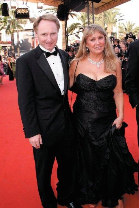 Dan Brown and Blythe Newlon