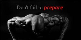 Don't Fail to Prepare