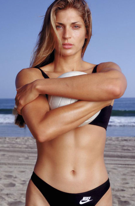Athlete Gabrielle Reece's fit figure