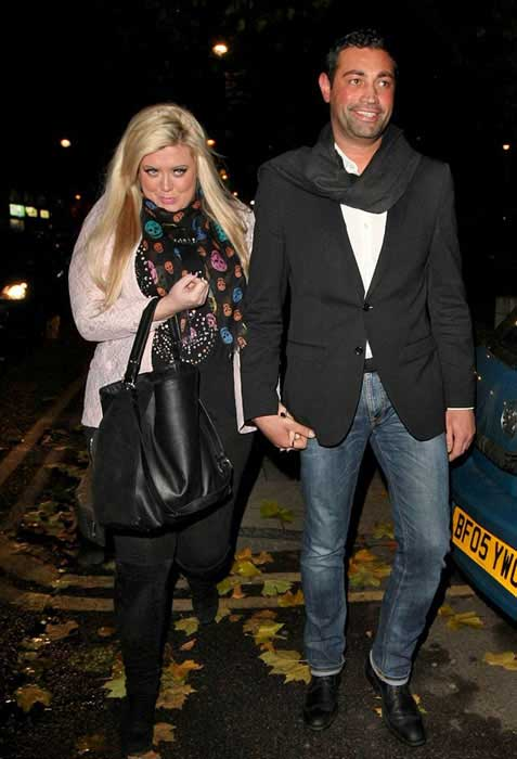 Gemma Collins with Rami Hawash