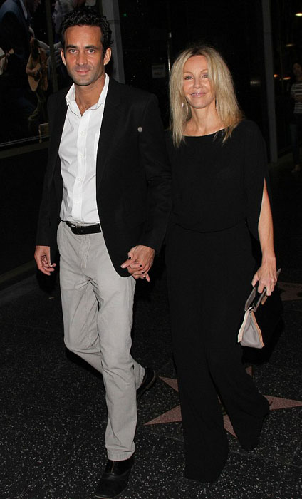 Heather Locklear and her plastic surgeon boyfriend Dr. Marc Mani