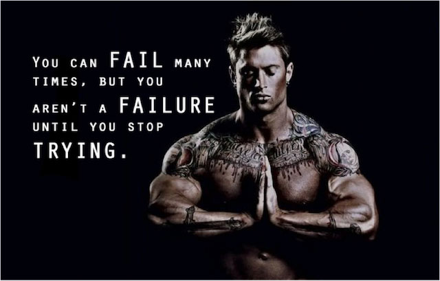 Keep trying until you succeed