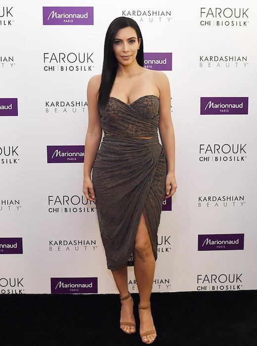 Kim Kardashian looks fab as of April 2015