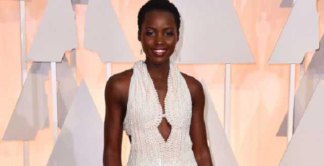 Lupita Nyong'o at Oscars