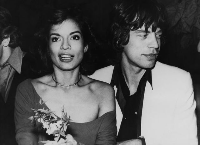 Mick Jagger and Bianca Jagger