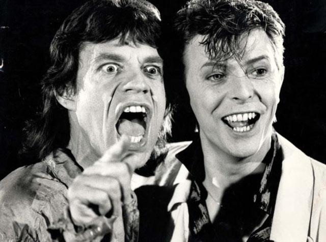 Mick and David