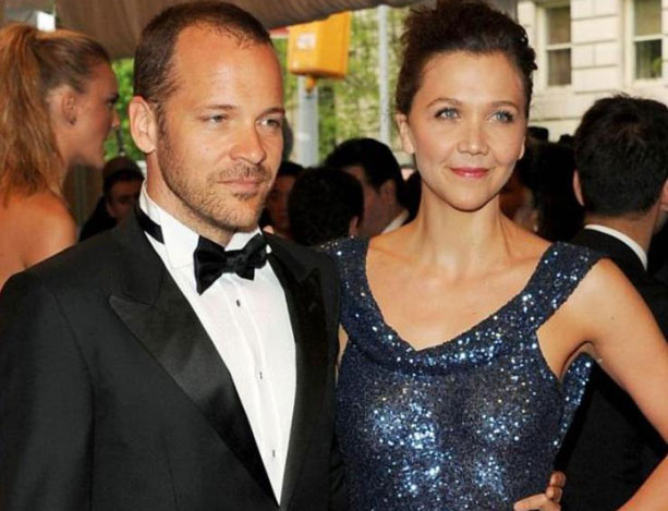 Peter and Maggie Gyllenhaal