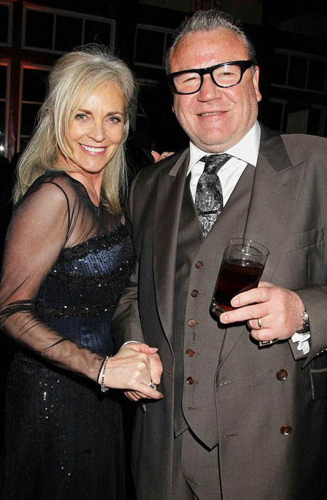 Ray and Elaine Winstone
