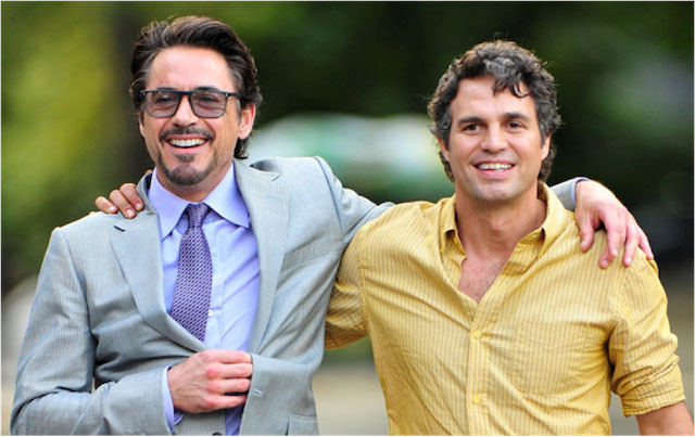 Robert Downey Jr. and Mark Ruffalo