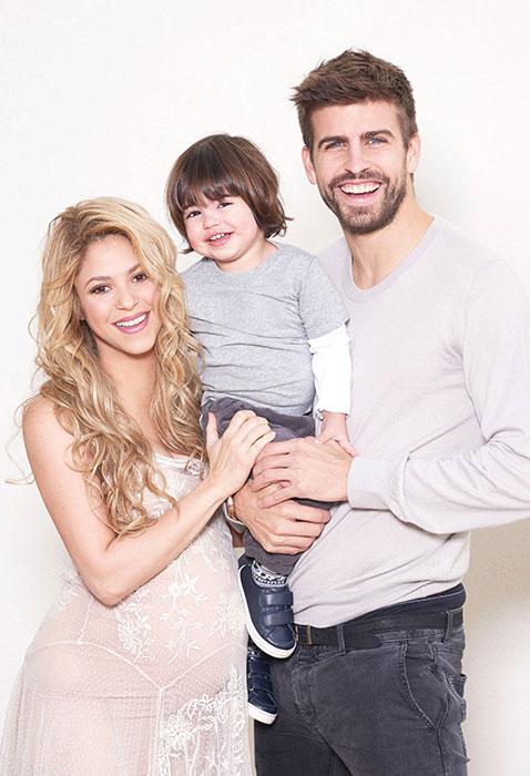 Shakira with Family